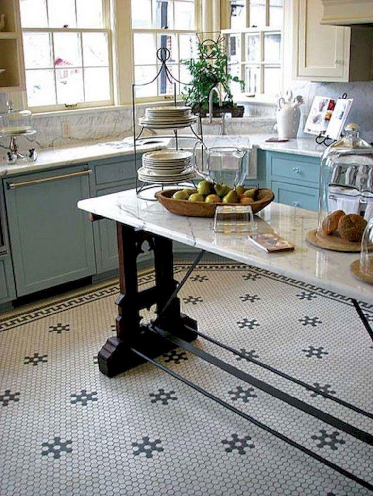 39 Beautiful Kitchen Floor Tiles Design Ideas Flooring Tile