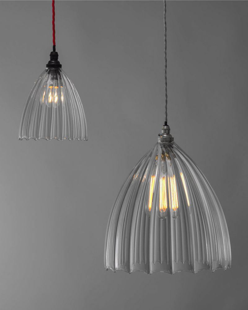 glass lighting pendants. Ledbury Ribbed Glass Pendant Light Lighting Pendants D