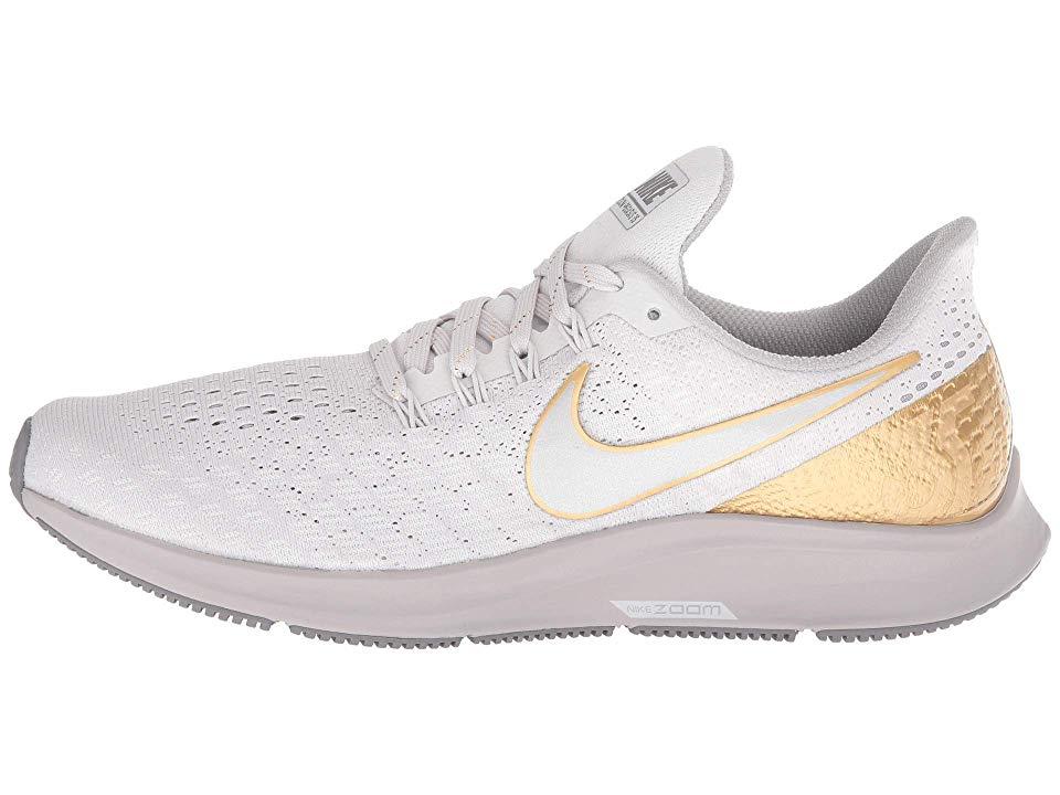 Nike Air Zoom Pegasus 35 Premium Women S Running Shoes Vast Grey Metallic Platinum Atmosphere Grey Nike Air Zoom Pegasus Air Zoom Womens Running Shoes