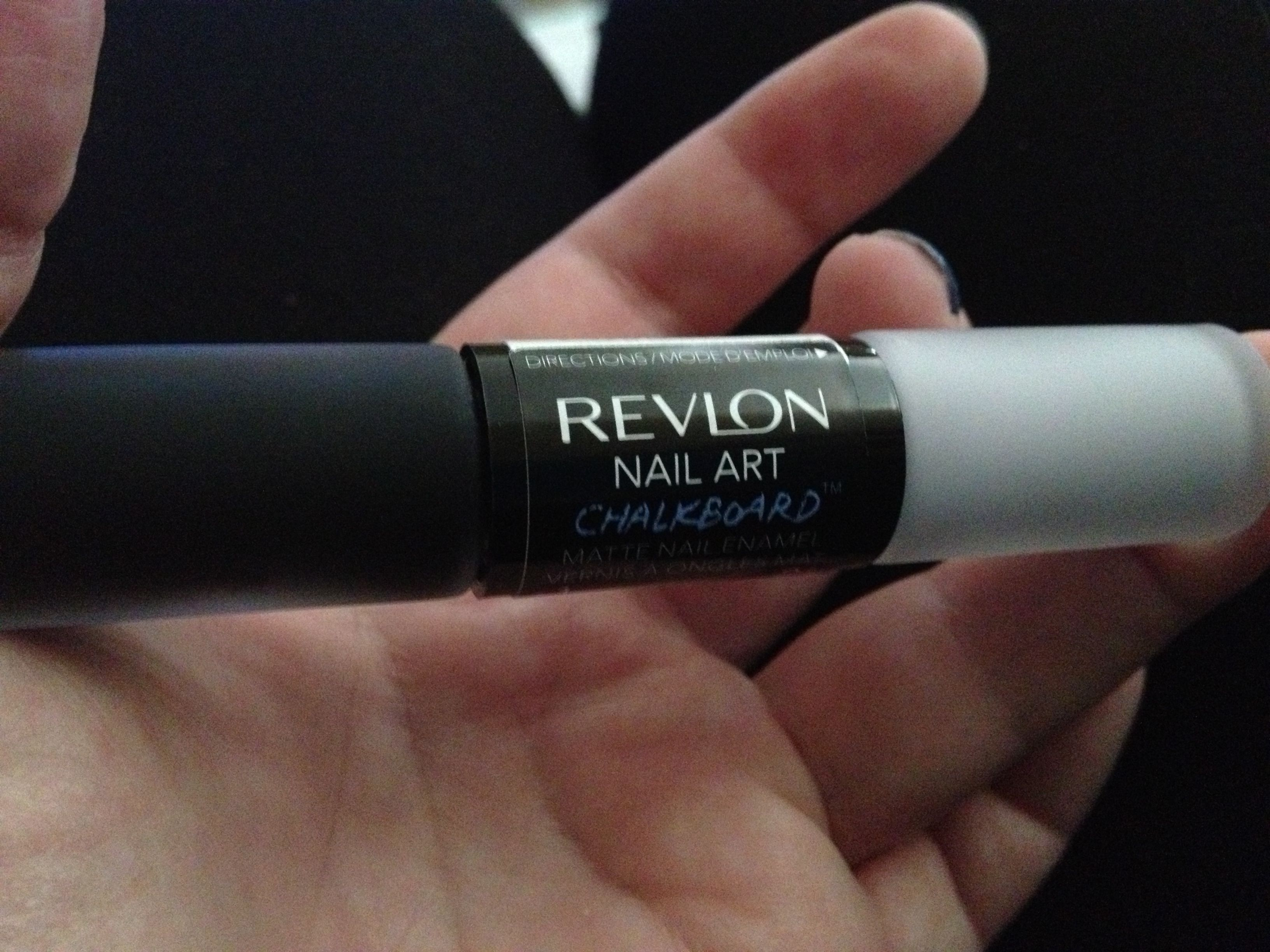 New From Revlonalkboard Nail Polish They Have Black Base That