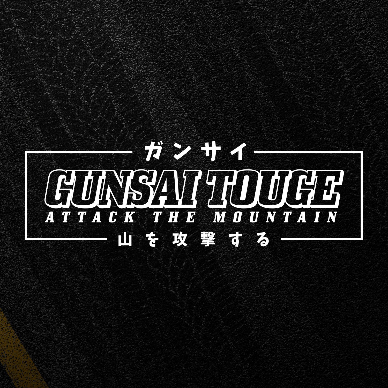 Gunsai touge xl 55cm jdm sticker attack the mountain rear window drift japan ebay