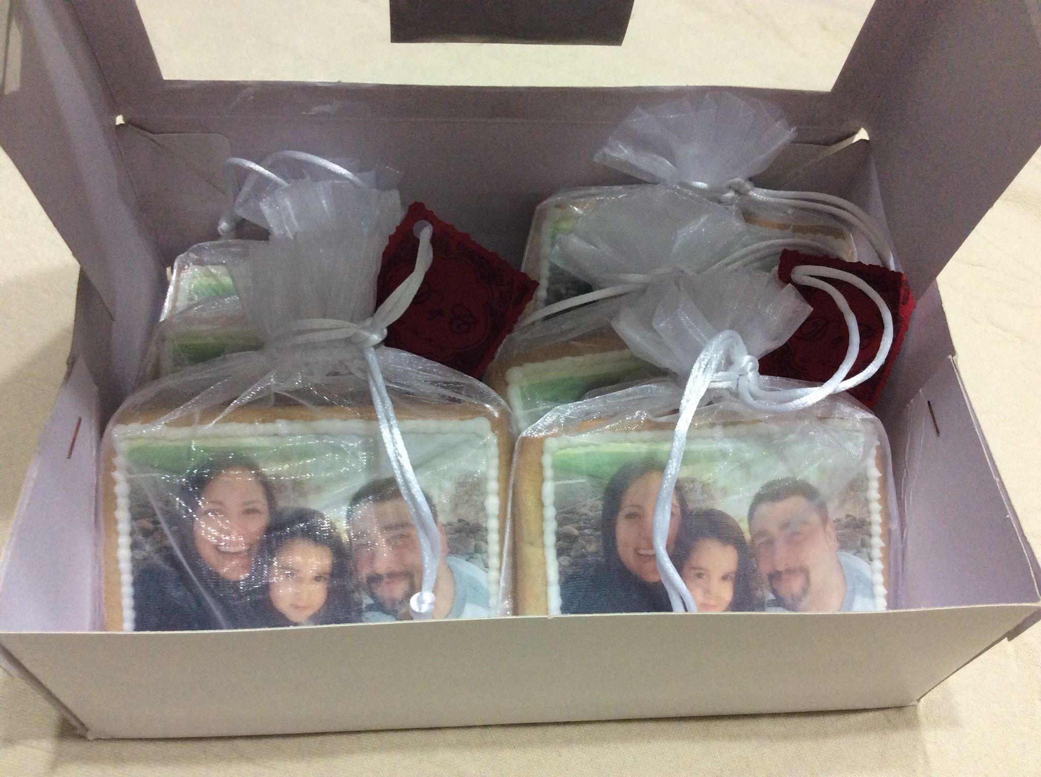 Galletas personalizadas de regalo.