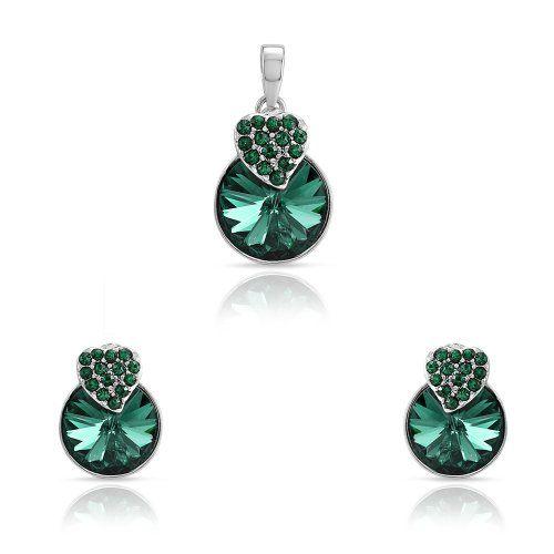 Mahi Green Rhodium Plated Green Swarovski Elements Pendant Set For Women, http://www.amazon.in/gp/goldbox/ref=cm_sw_r_pi_gb_2y-Lub10WNZZE?ie=UTF8&*Version*=1&*entries*=0