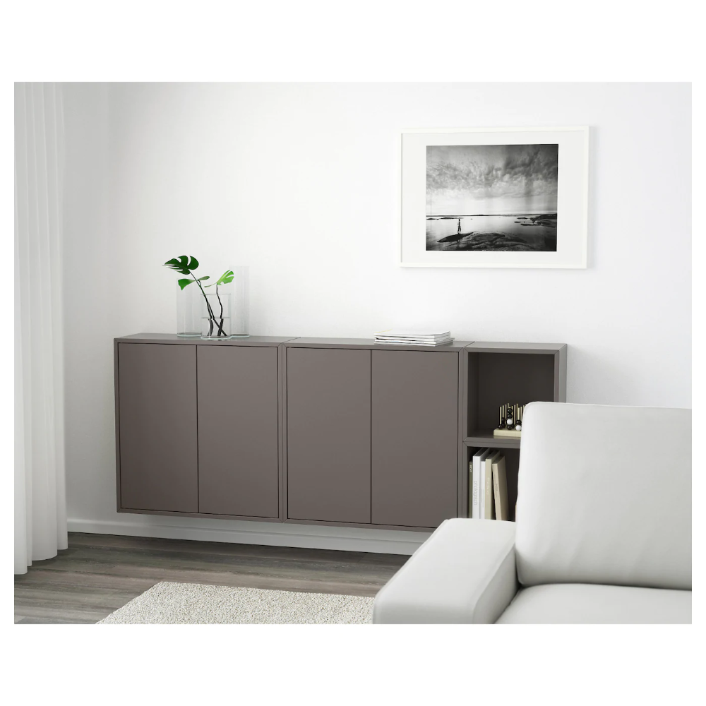 IKEA EKET Dark Gray Wallmounted combination i