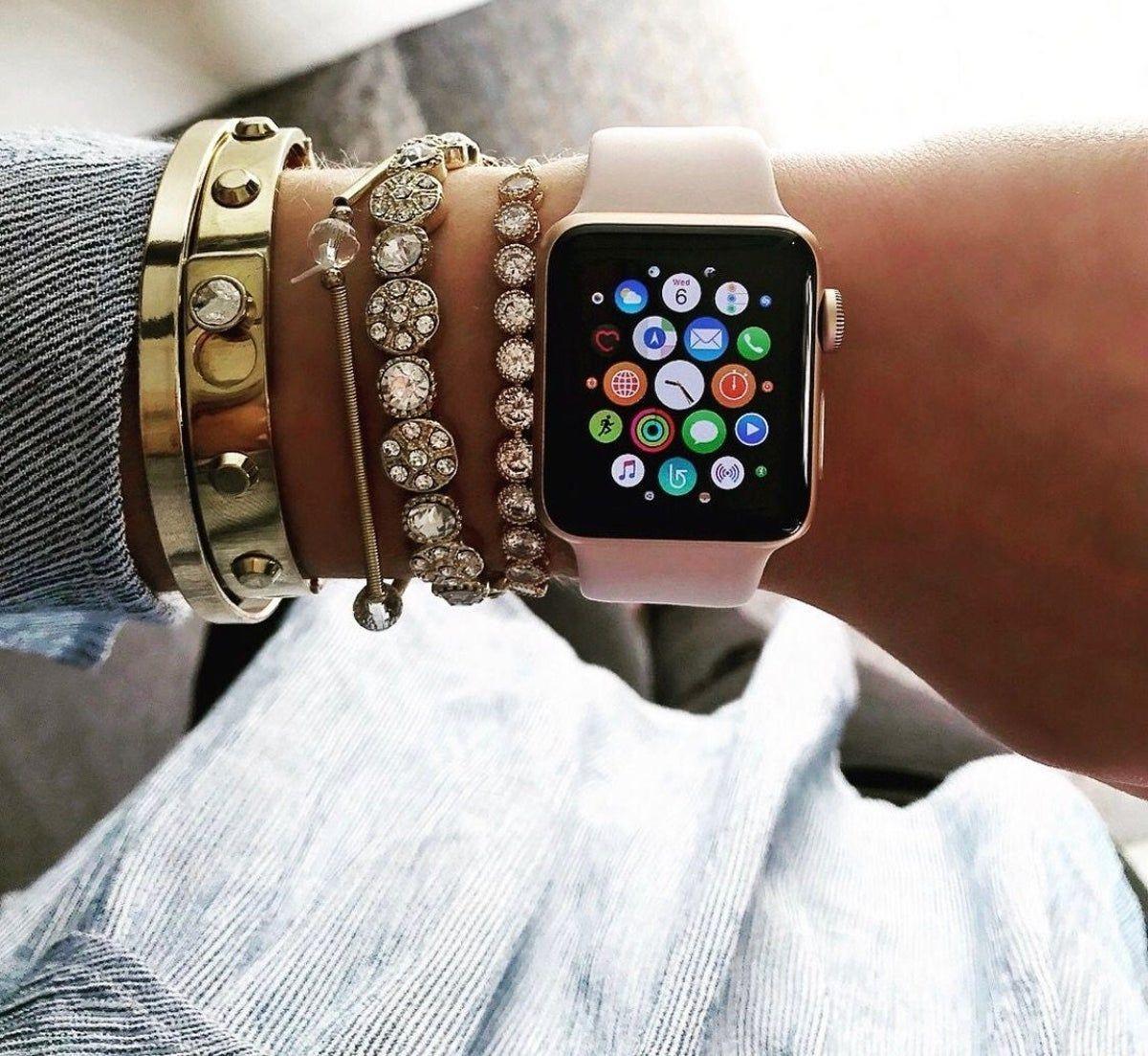 Apple Watch 44mm Pink Sand Sports Band! en 2020 Relojes