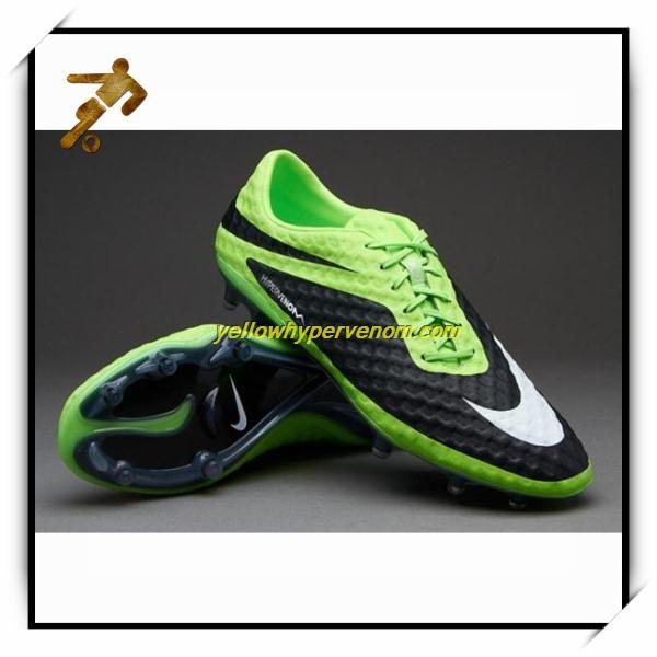 best sneakers a177a 61f25 New Nike Hypervenom Phatal FG Lime White Black Football ...