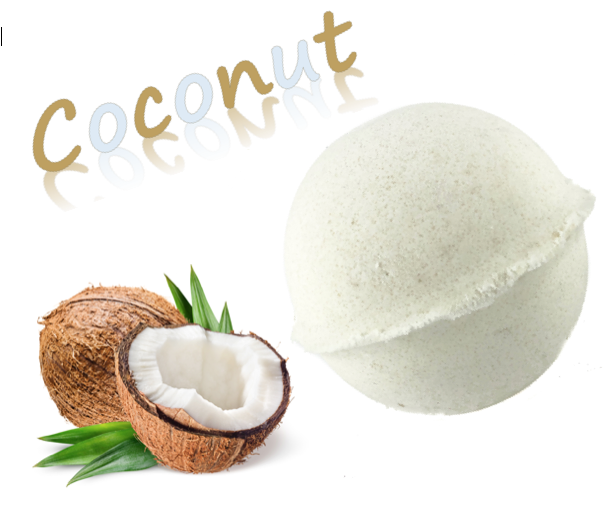 Check out our awesome new Coconut Bath Bomb. Available