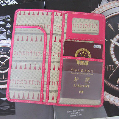9.80$  Buy here - http://viefa.justgood.pw/vig/item.php?t=6xjypjy4417 - Women Possport Cover Boarding pass Holder Ticket Organiser Document Folder Purse