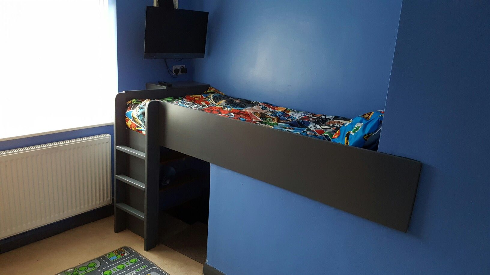 Cabin Bed Over Stair Box Box Bedroom Boys Cabin Bed Small Bedroom