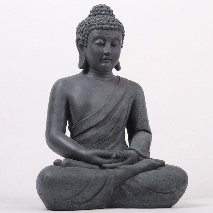 Xxl 50 Cm Riesige Deko Asien Garten Buddha Figur Statue Skulptur Feng Shui Neu In Mobel Wohnen Dekoration Feng Shui Ebay