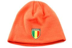 7fb6d6af73b Puma Country Shield Portugal Men s Women s Red Gold Emblem Winter Beanie Hat  - See
