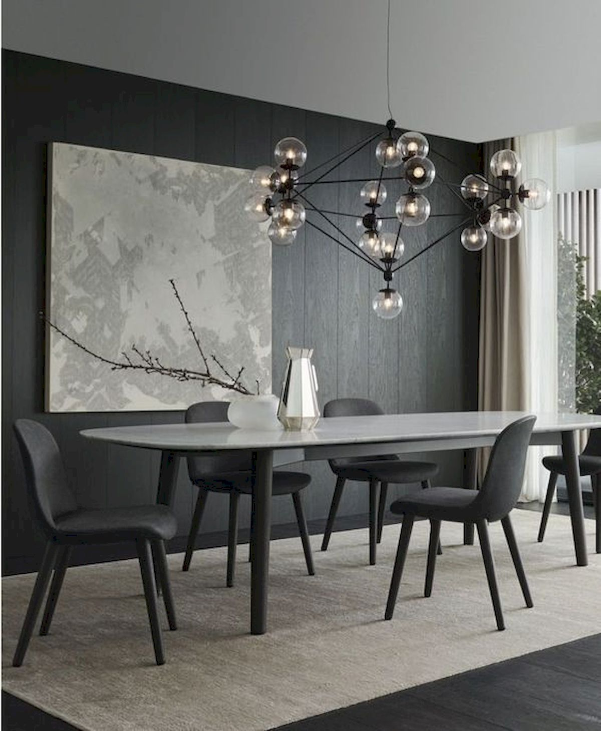 80 Elegant Modern Dining Room Design And Decor Ideas With Images