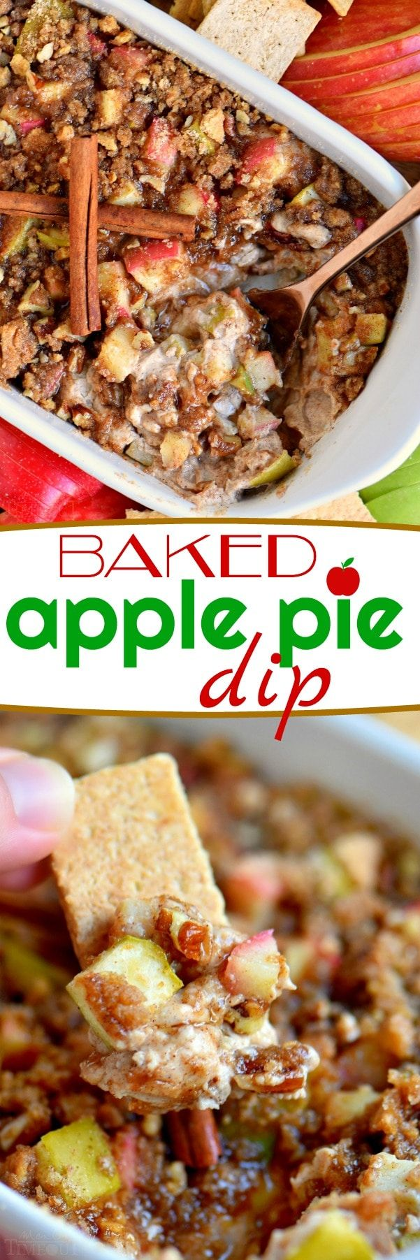 This easy Baked Apple Pie Dip is made with fresh apples