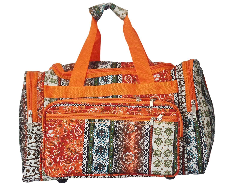 6b5a4537d12a Custom Personalized 19' Fashion Multi Pocket Duffle Bag * You can ...