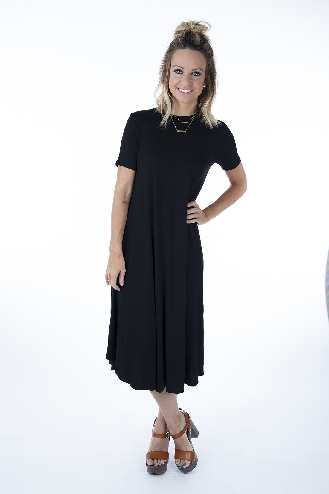 Maddie Dress [Assorted Colors]