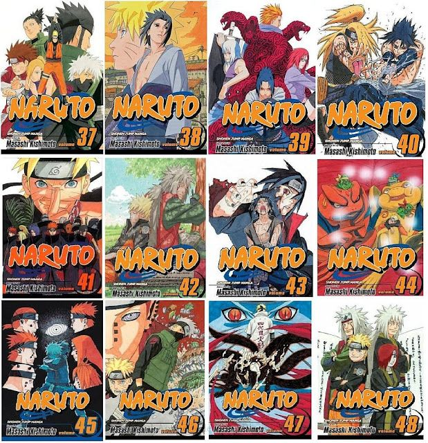 Anime Manga Covers: Pin By Phl K. CHHIN On Naruto Cover