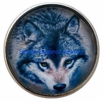 Wolf Animal Snap 20mm