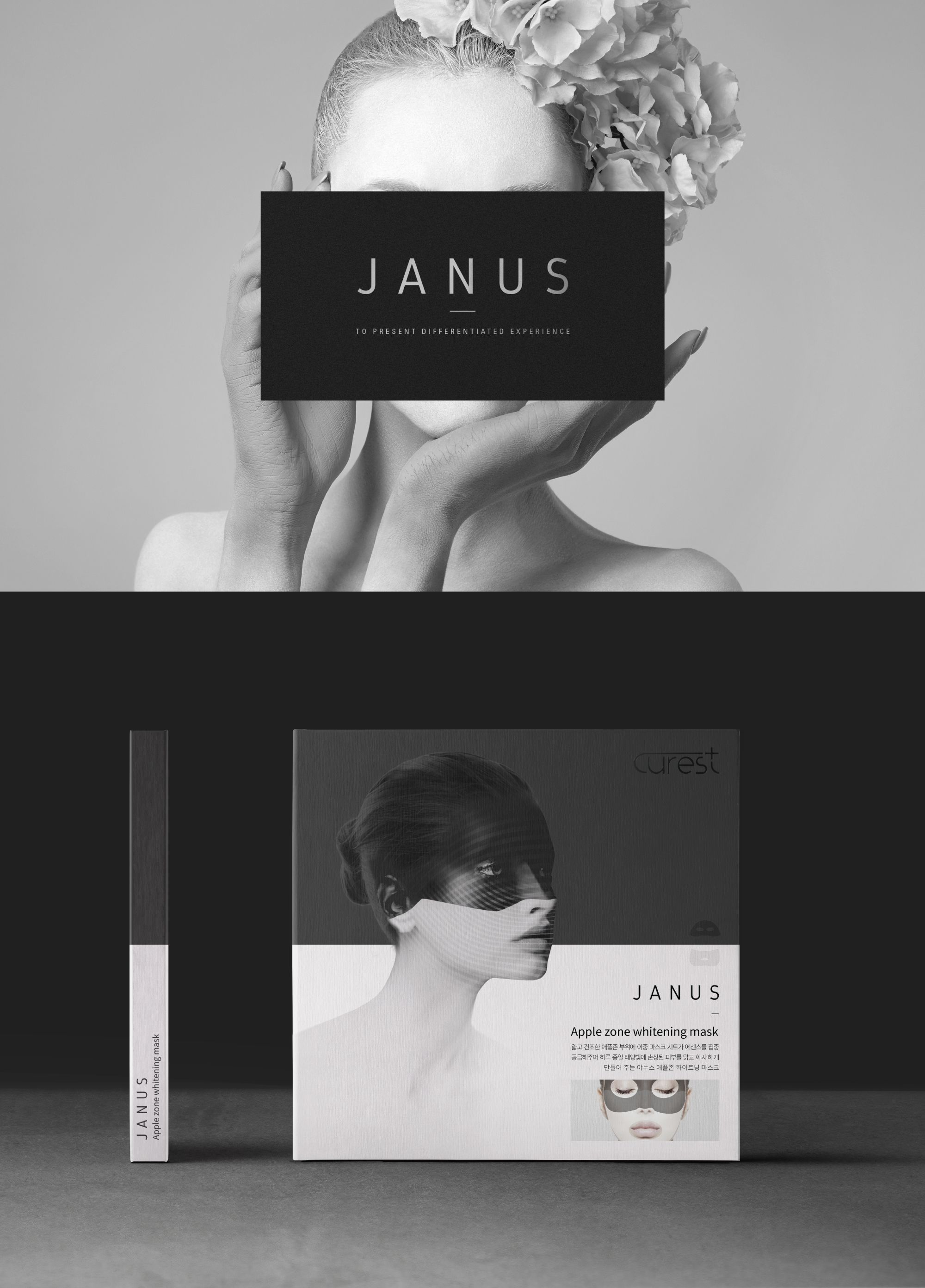 Kingsmen  l  BX Lab. / Janus-Facial-Mask / kingsmenbxlab.com _cosmetic / branding / package / mask