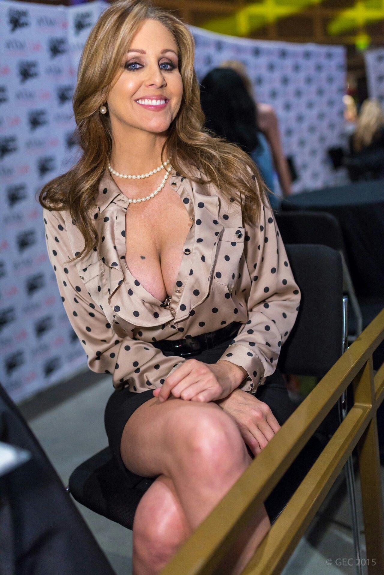 Denise laurel boob slip