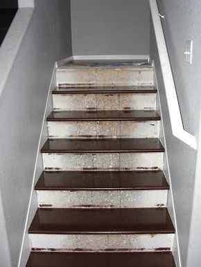 Delicieux How To Redo Stairs Covered In Carpet, Made Of Ugly Wood