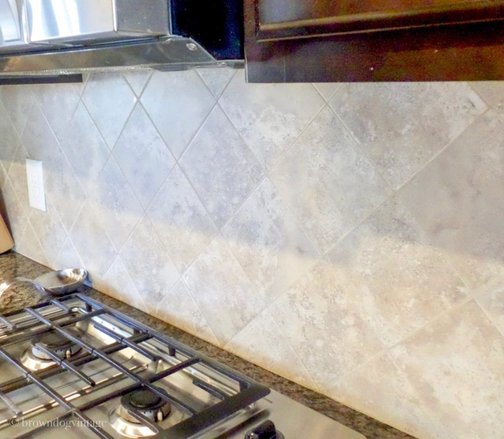 - Painting Tile Backsplash - See How It Looks A Year Later