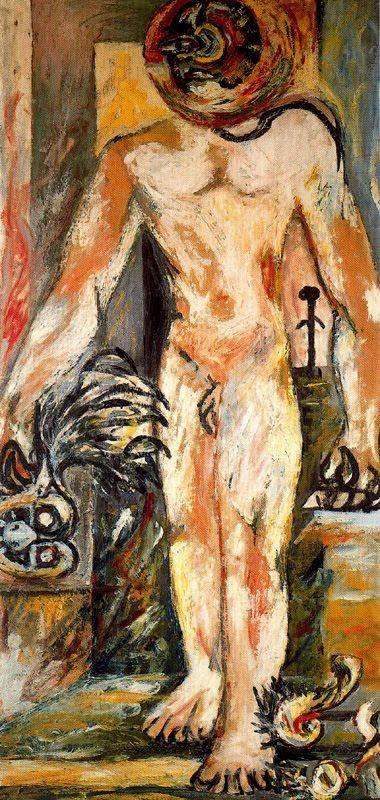 Jackson Pollock - Nude Man, Ca 1938  Nudes  Jackson -1915