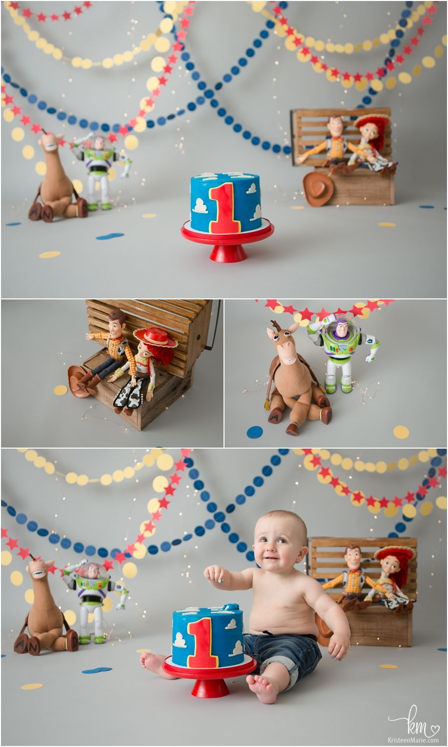 Pin By Meredith Odum On Brayden S 1st Bday In 2020 Toy Story Cakes Toy Story Birthday Toy Story Birthday Party