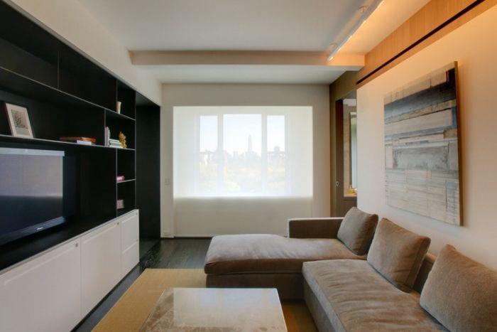 Wohnzimmer einrichten \u2013 Tipps für lange, schmale Räume Zubau