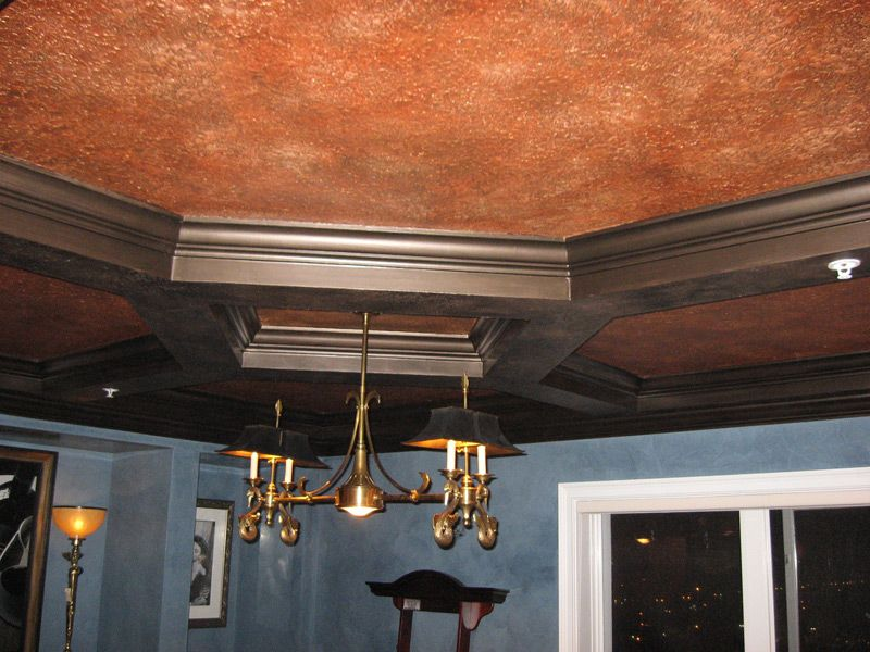 copper wall paint - Google Search - Faux Copper Ceiling Tin Category Colage Of Images Decor: Rustic