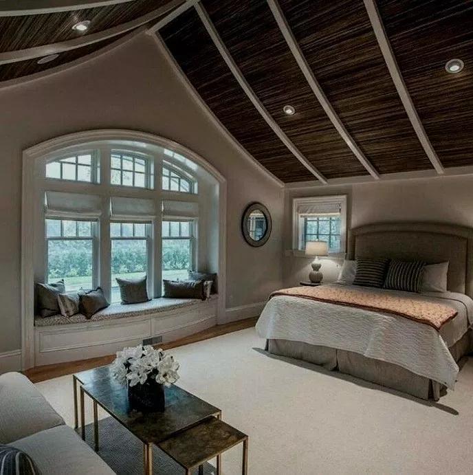 17 Comfy Master Bedroom Decorating Ideas Comfymasterbedroom Masterbedroomdecor Masterb Bedroom With Sitting Area Dream Master Bedroom Master Bedrooms Decor