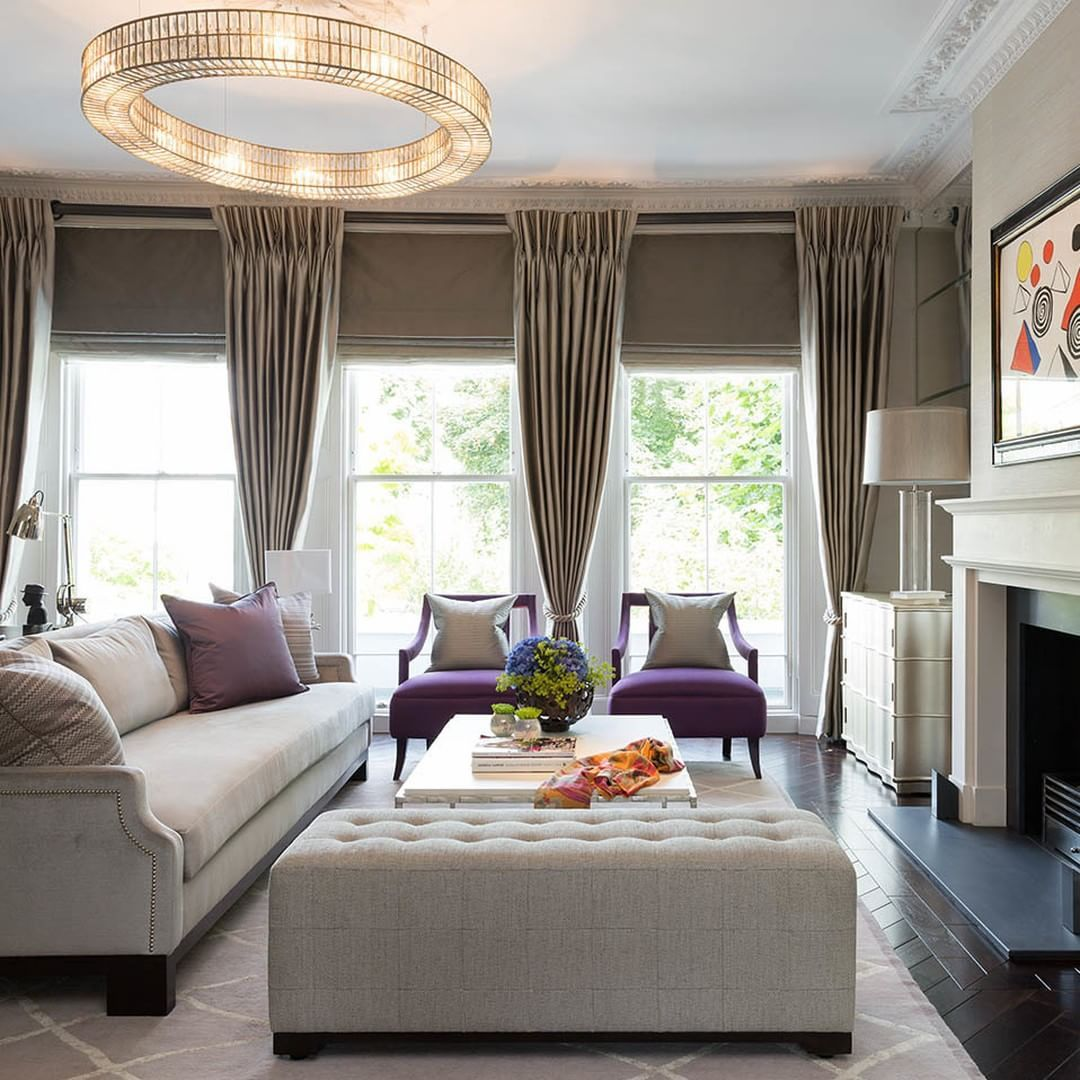 The Light Tones Used In This Primrose Hill Sitting Room