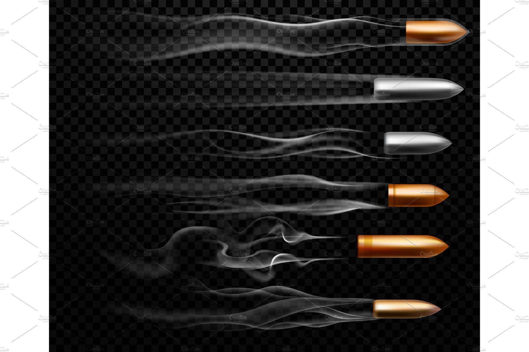 Flying Bullet Traces Shooting Bullet Tattoo Bullet Bullet Drawing