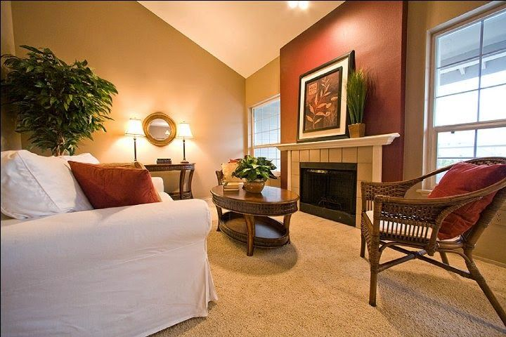 20 Beautiful Living Room Accent Wall Ideas Living Room Warm Paint Colors For Living Room Living Room Colors