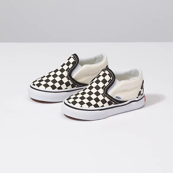 Toddler Checkerboard Slip-On   Shop At
