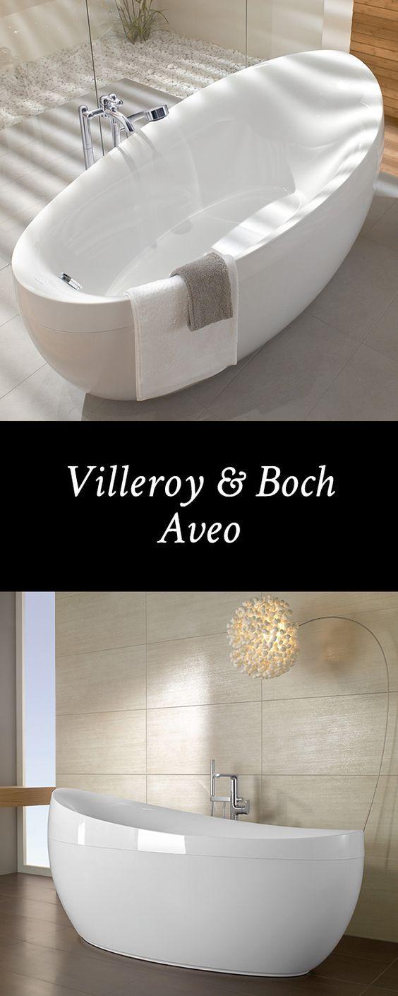 Villeroy U0026 Boch Aveo: Um Die Außergewöhnliche Form Der Freistehende  Badewanne Gießen Zu Können, Hat Der Markenhersteller Das Material Quaryl  Entwicu2026