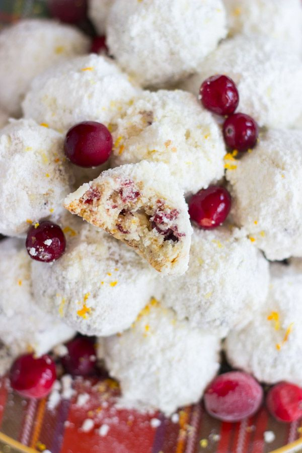 Cranberry Orange Snowballs From The Garden To The Table Recipes
