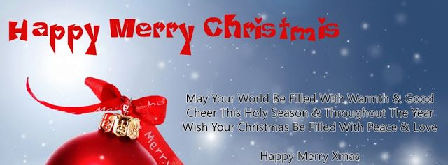 Merry Christmas Facebook Cover Images, Photo And Wallpapers | SMS ...
