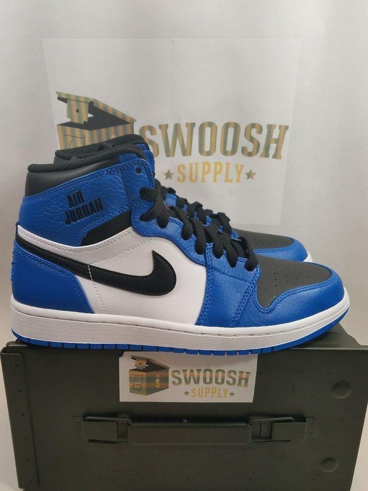 Nike Air Jordan 1 Retro High Rare Air Mens 332550-400 Soar Blue Shoes Size  9  Nike  BasketballShoes cc9f45f51