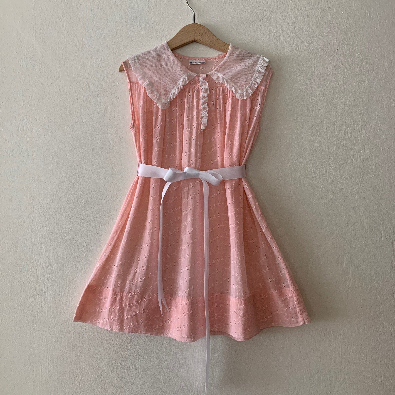 Vintage Girls Pink Eyelet Sheer Dress Vintage Girls Dress Vinage Dress Size 4t 5t 6y Vintage Girls Dresses Girl Dress Set Sheer Dress [ 3000 x 3000 Pixel ]