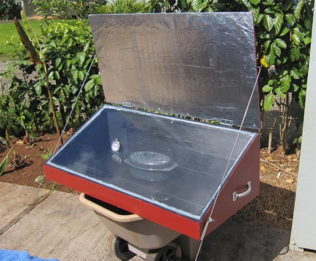 Diferentes tipos de estufas solares y c mo funcionan con - Estufa con horno ...