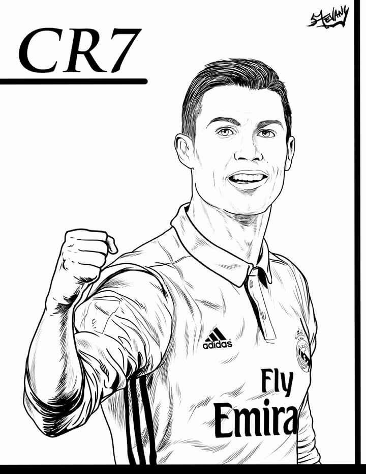 20 Der Besten Ideen Fur Ronaldo Ausmalbilder Cristiano Ronaldo Ronaldo Ronaldo Pictures