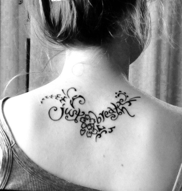 Elisa Just Breathe Life Tattoos Tattoos Tribal Tattoos With Meaning