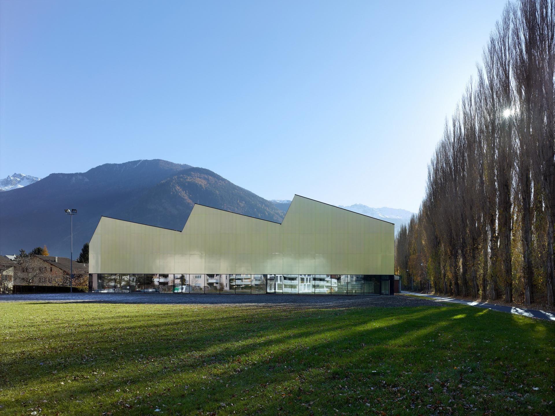 Gallery Of Three In One Sports Center Savioz Fabrizzi