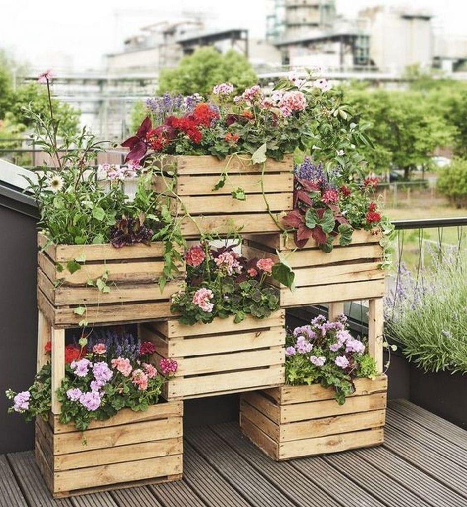 How To Build A Vertical Box Planter Vintage Garden Decor 400 x 300