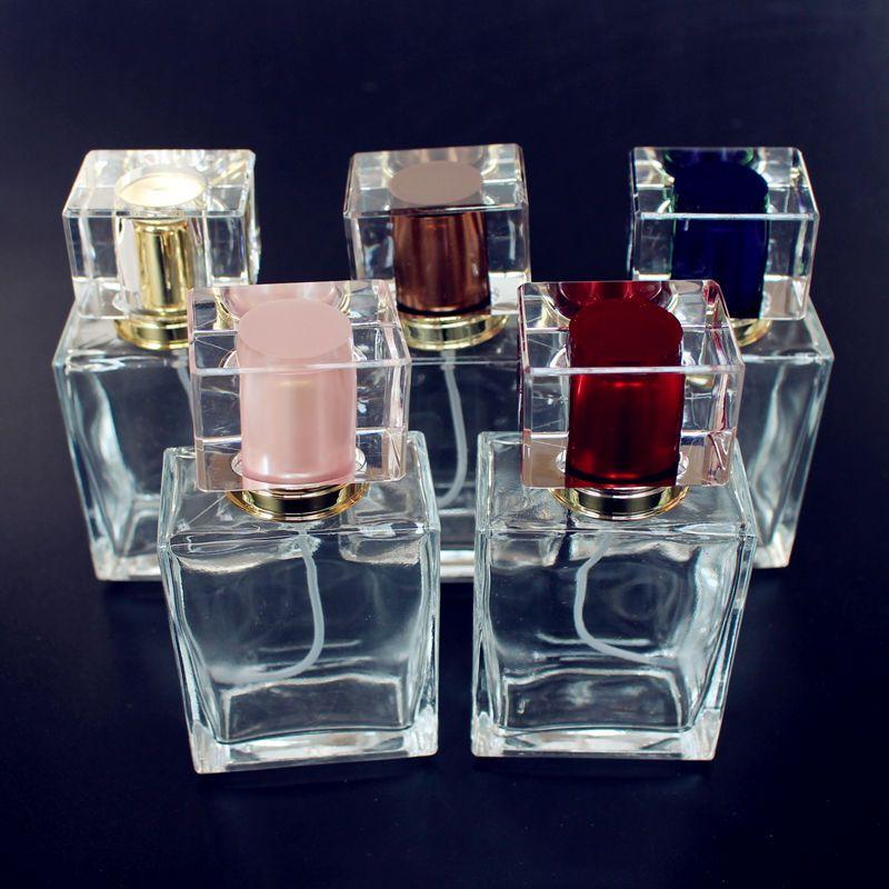 e598cbf06ca9 1PC TOP QUALITY 50ml Glass Empty Perfume Bottles Spray Atomizer ...