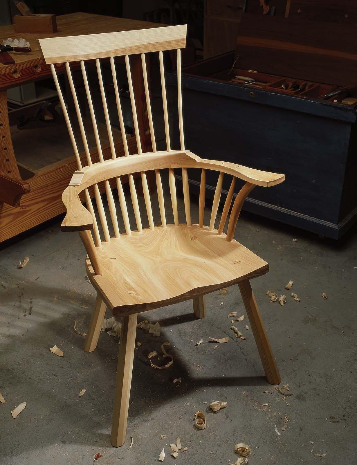 Building a Welsh Stick Chair Chair, Diy furniture chair