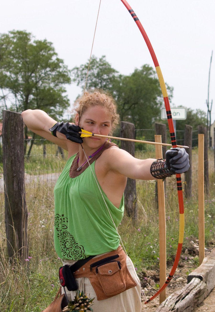 Nude female archer Nude Photos 76