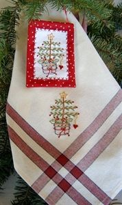 Picture of Freebie Folk-Art Christmas tree