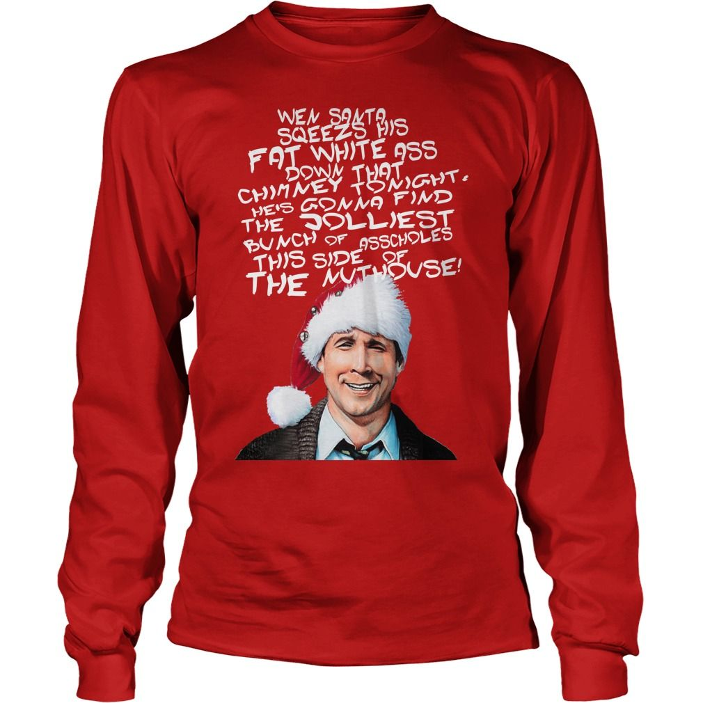 Griswold Alternative Christmas Card Loongsleeve Tee Griswold