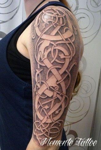 Gross german tattoo
